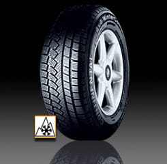 OPONA 255/60R17 106H CONTINENTAL 4X4 WINTERCONTACT (MO)