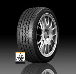 OPONA 205/55R16 91H CONTINENTAL TS830 P, Run Flat, ( F, E, 2)), 72dB ), DOT(4311)