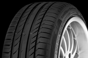 Continental ContiSportContact 5 SUV 235/55R18 100V opona letnia terenowa FR ( C, A, 2)), 71dB ) DOT(5111)